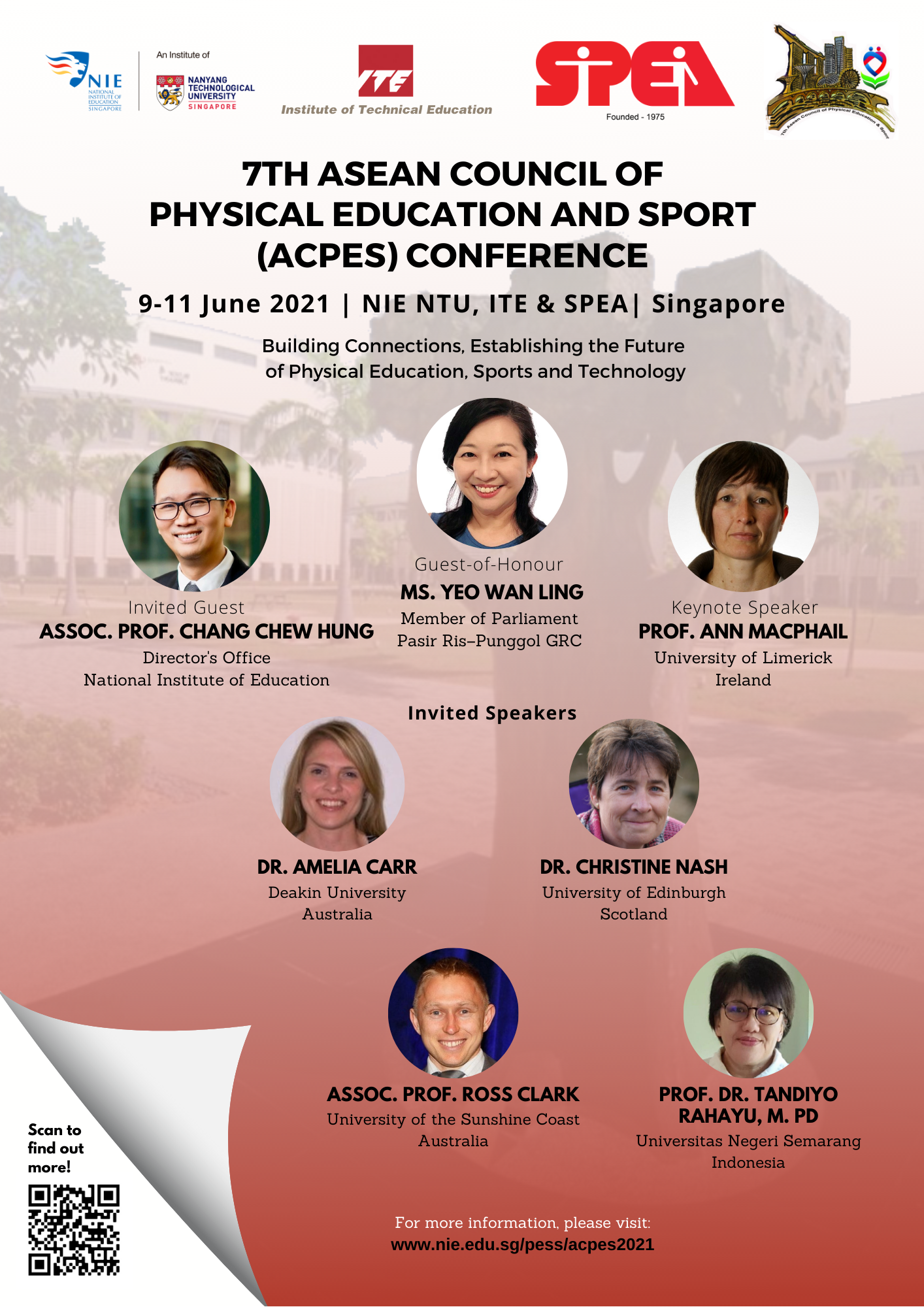 7th ACPES Conference Publicity Poster
