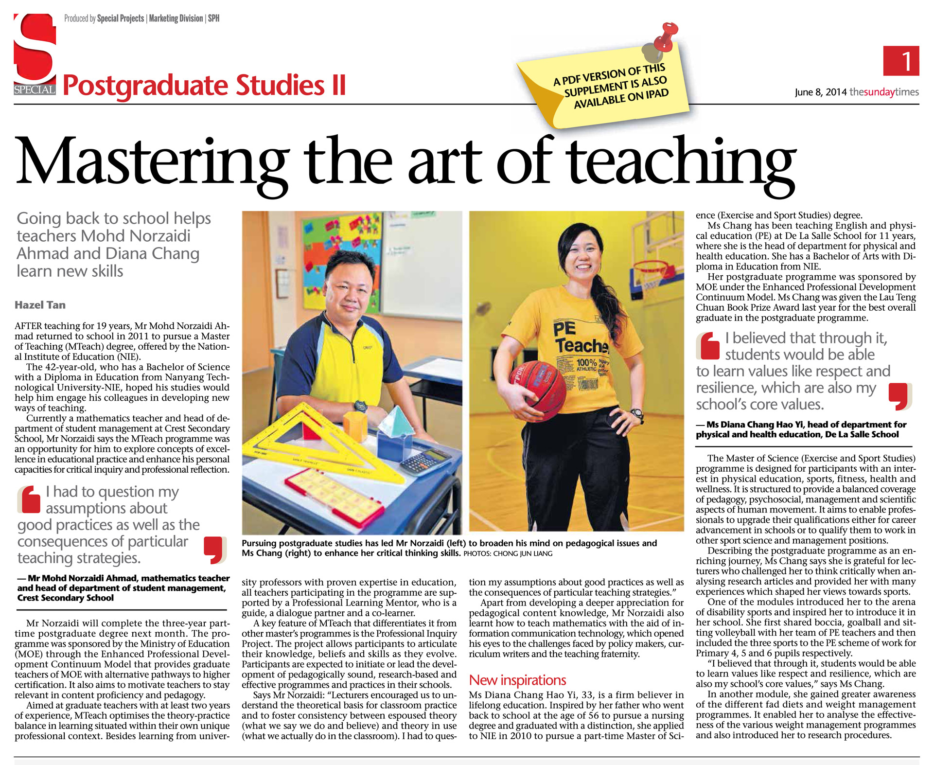 Mastering the Art of Teaching