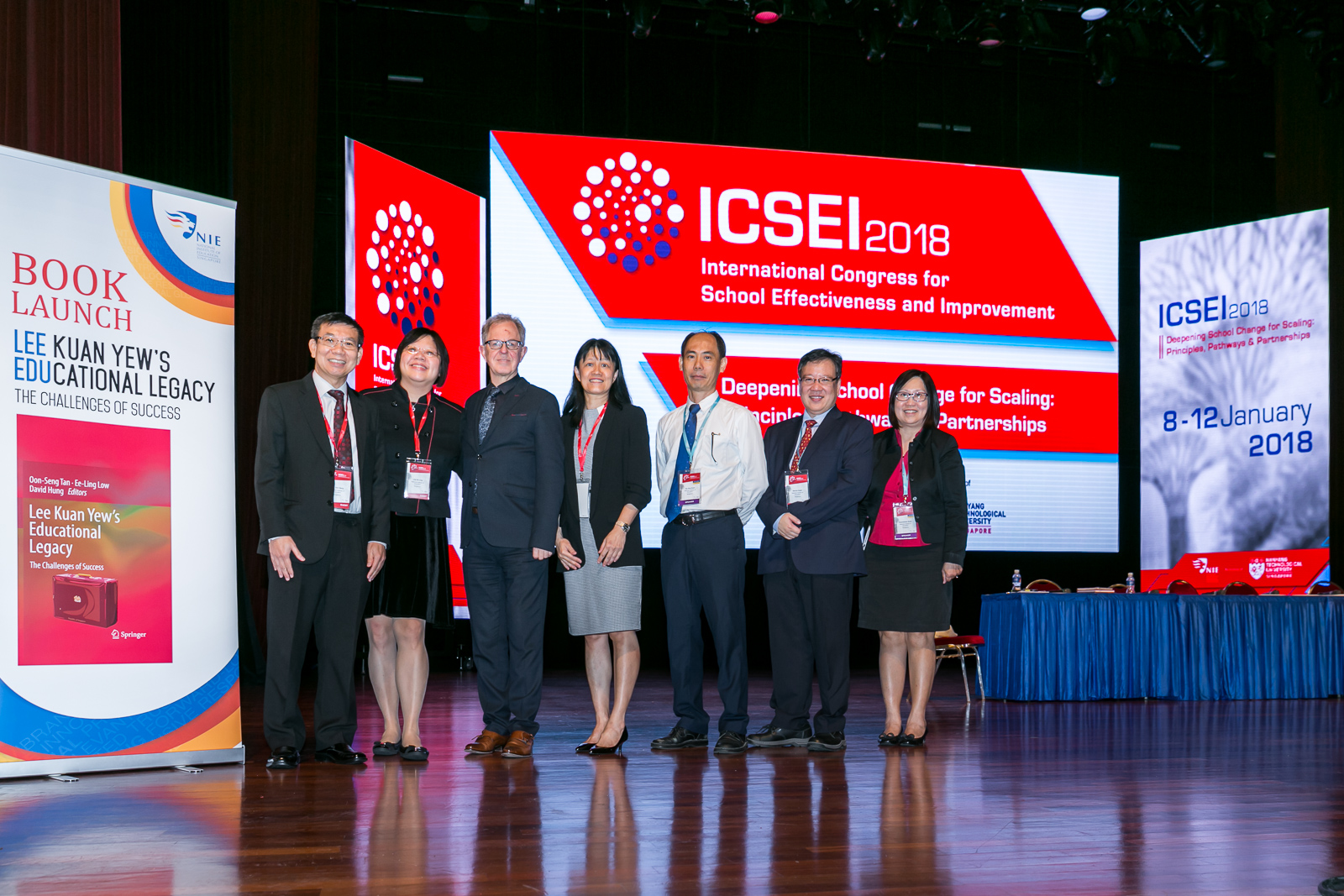 NIE Hosts 31st International Congress for School Effectiveness and Improvement
