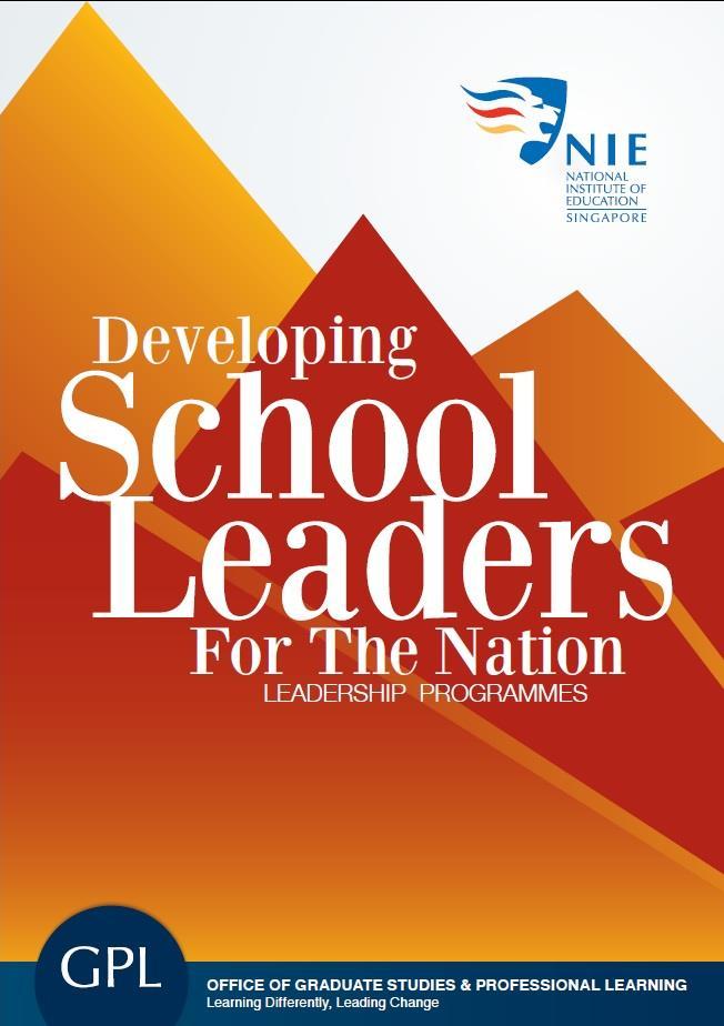 brochures national institute of education nie singapore