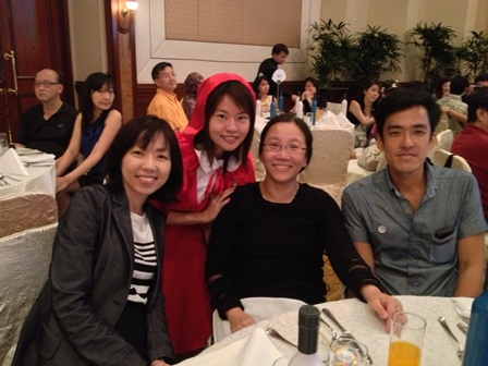 ELL colleagues at NIE Annual Staff Lunch 2013