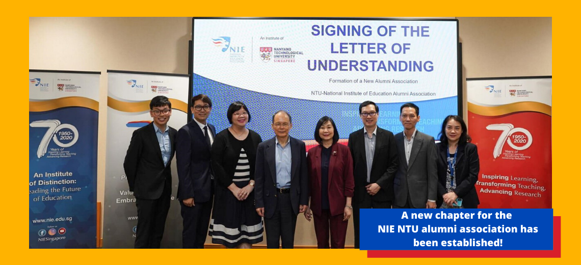A new chapter for the NTU-NIE alumni association has been established!
