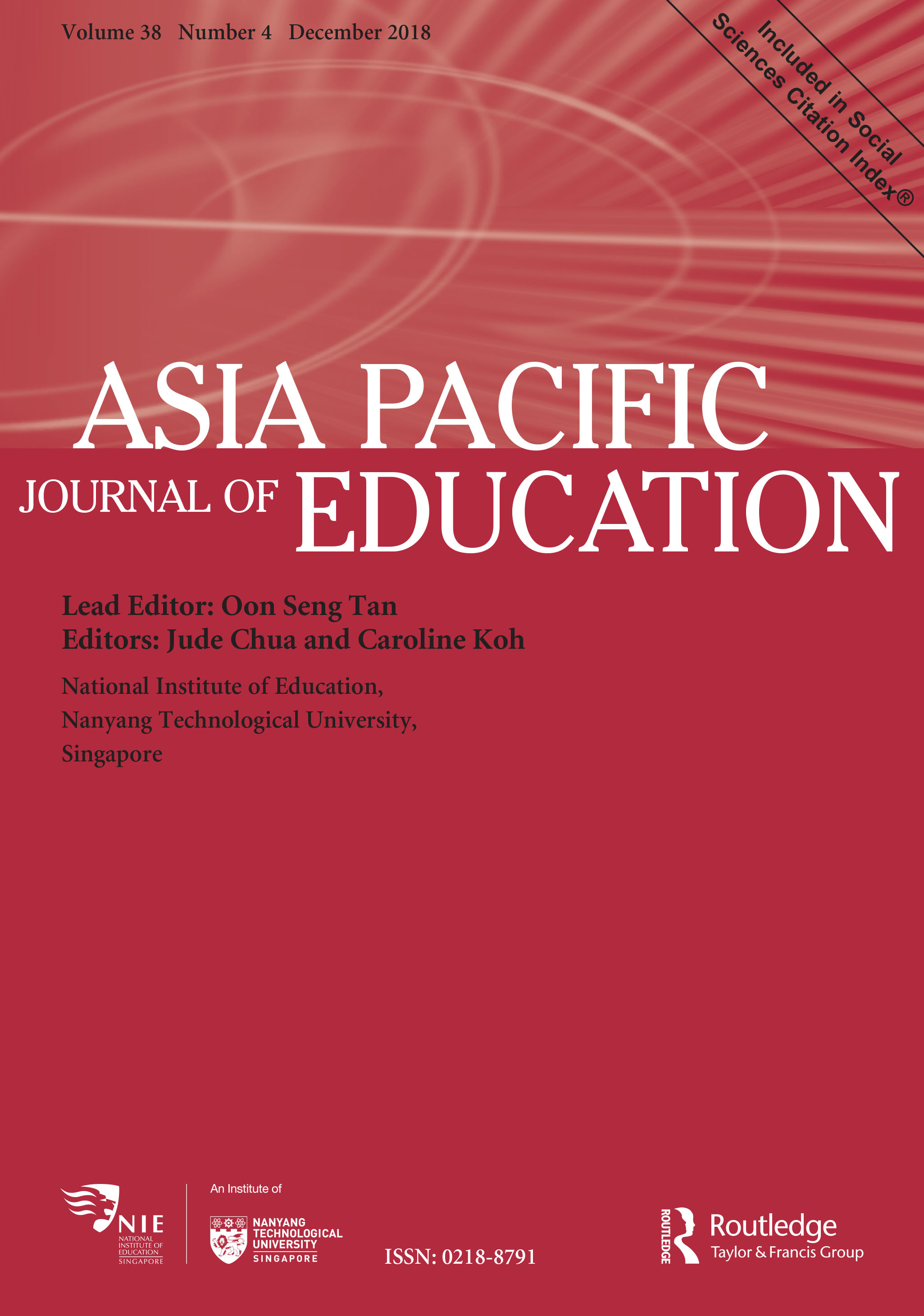 Asia Pacific Journal Of Education National Institute Of